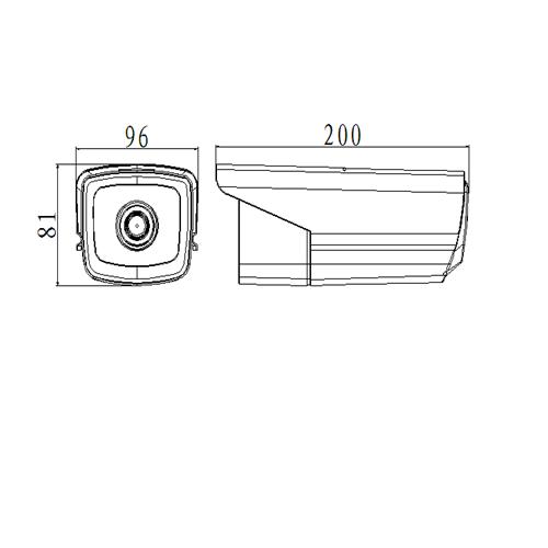 Camera HD trụ hồng ngoại 2MP AVone AV-A200R4A