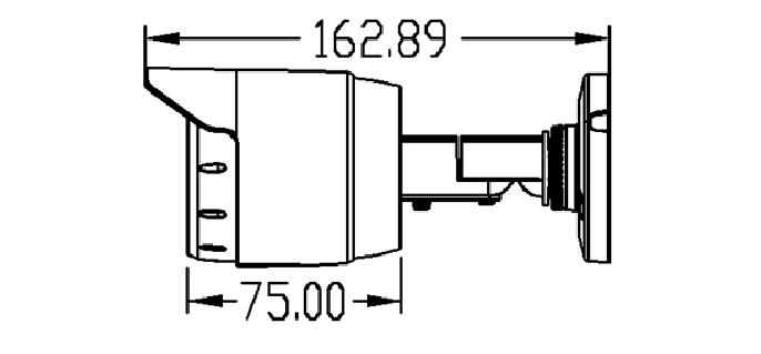 Camera Ip trụ hồng ngoại 4MP AVone AV-IPC4005M-R30B