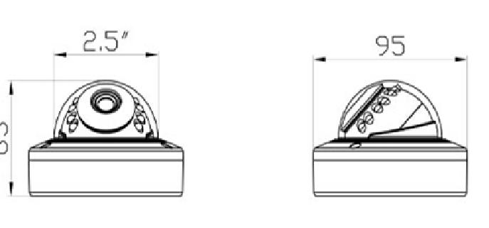 Camera HD bán cầu hồng ngoại 2MP AVone AV-A200R12