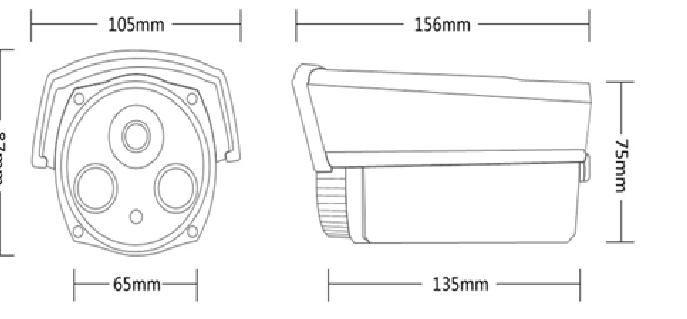 Camera Ip trụ hồng ngoại 2MP AVone AV-IPC2005M-R2A