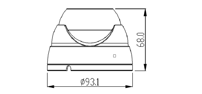 Camera Ip bán cầu hồng ngoại 2MP AVone AV-IPC2005MR24