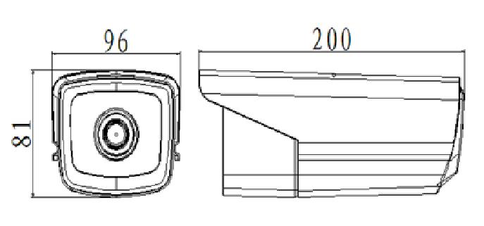Camera Ip trụ hồng ngoại 4MP AVone AV-IPC4005M-R4A