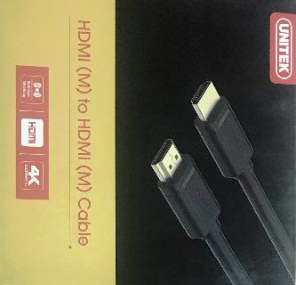 Cáp HDMI Unitek  1,5 m hàng chính hãng dây đen