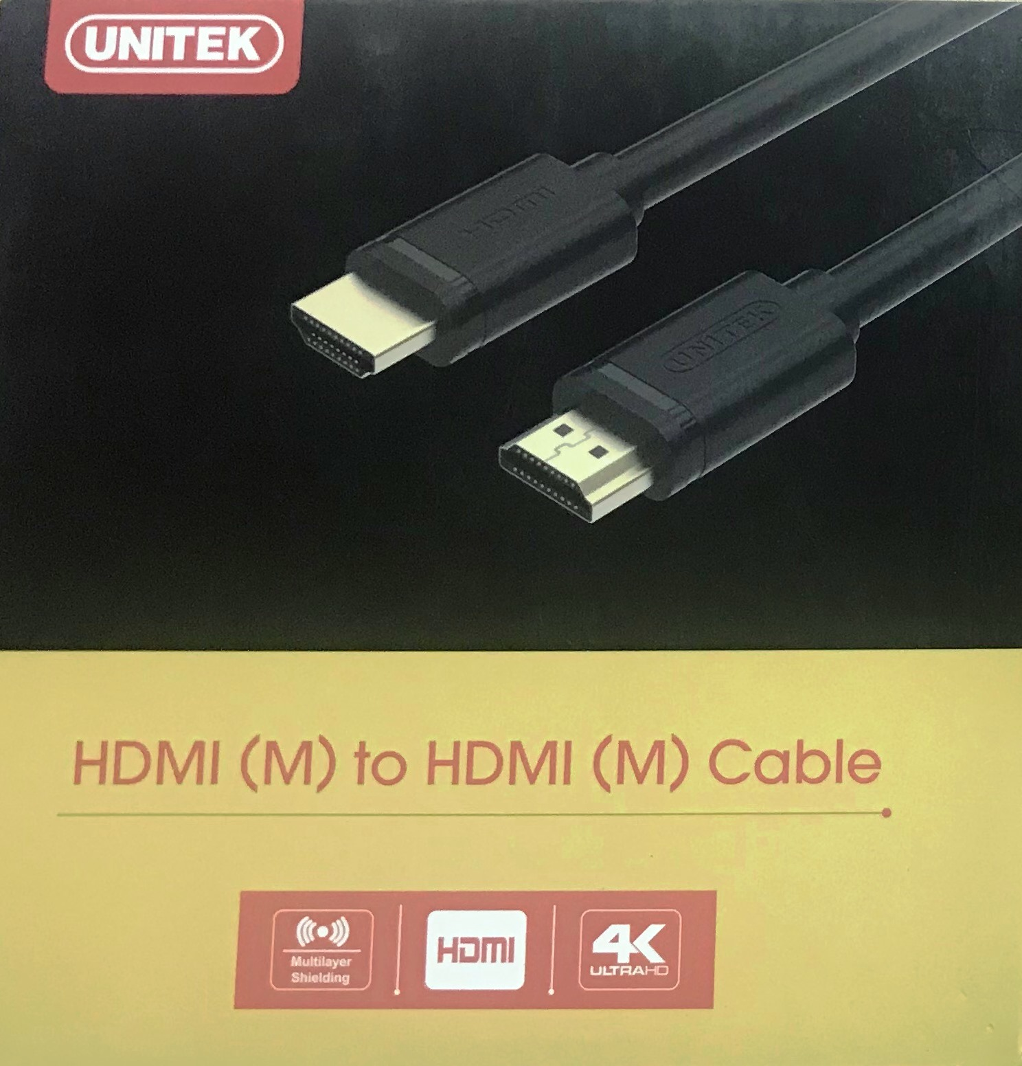 Cáp HDMI Unitek 10m hàng chính hãng dây đen