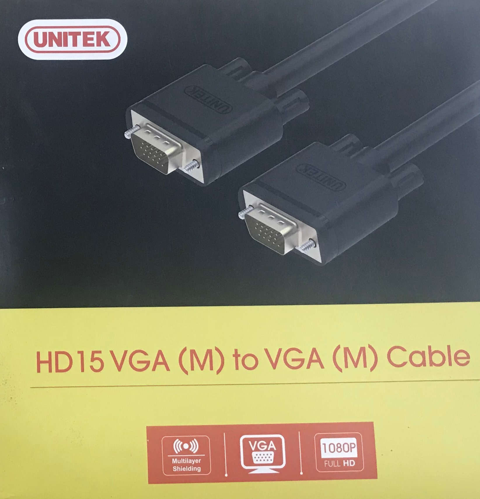 Cáp VGA Unitek 30m chống nhiễu