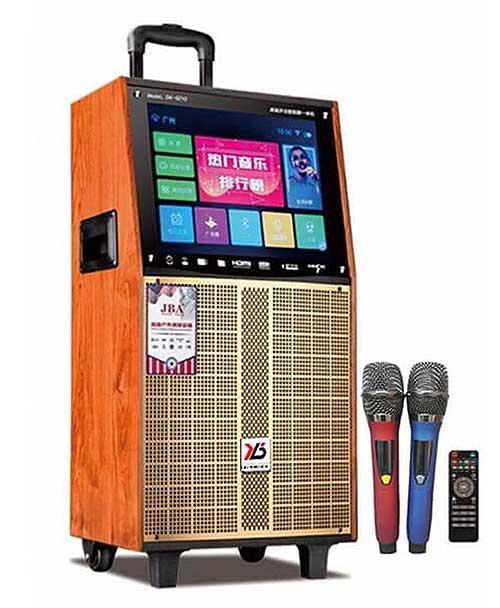 Loa kéo Karaoke có màn hình LCD JBA 9215D, kết nối Wifi
