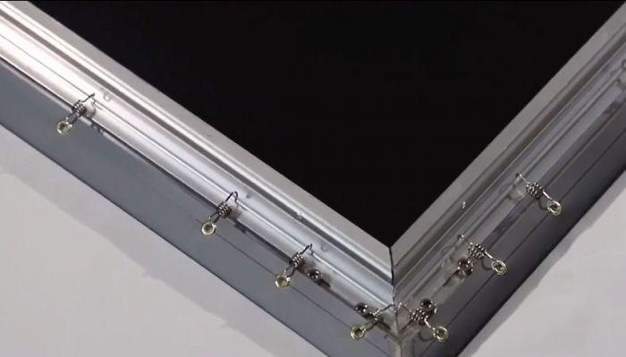 Màn chiếu khung Fix Frame 4K 120 inch Dalite tỷ lệ 16:9 để chiếu phim
