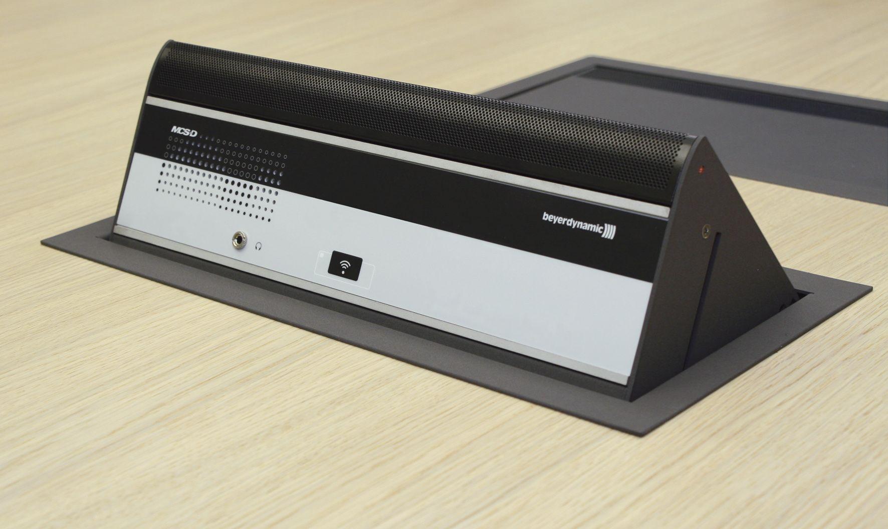 Micro chủ tọa gắn âm bàn MCS-D 3823