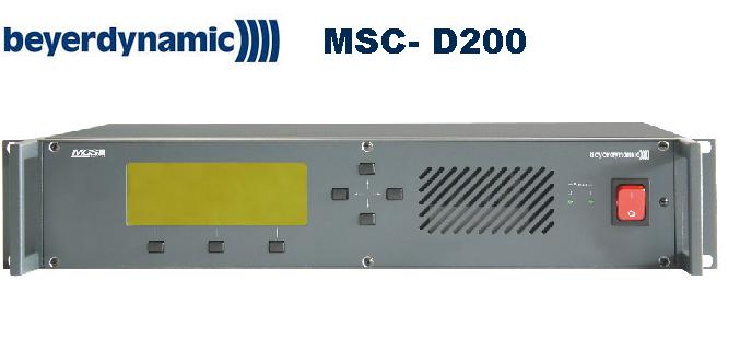 Bộ điều khiển trung tâm kỹ thuật số  MSC-D 200