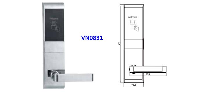 Khóa Thẻ Từ VN-8031 VÀ VN8019 VNLOCK