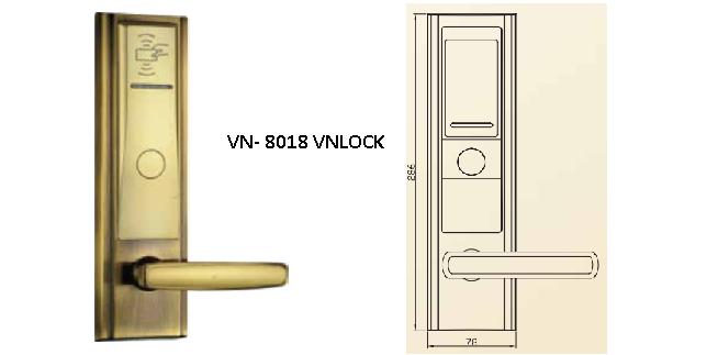 Khóa Thẻ Từ VN-8000/ VN-8018 VNLOCK