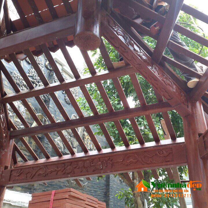 Kết cấu nhà gỗ lục giác