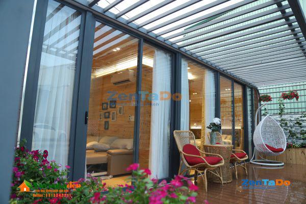 Nhà gỗ di động thông minh cho khu nghỉ dưỡng