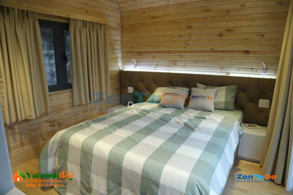 Phòng ngủ nhà di động thông minh