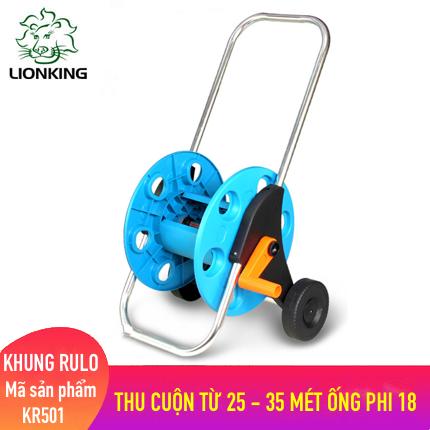 Khung rulo cuộn ống LionKing KR501 - cuộn ống có độ dài từ 25 - 35 mét ống phi 18