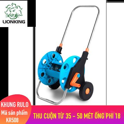 Khung rulo cuộn ống LionKing KR508 - cuộn ống có độ dài từ 35 - 50 mét ống phi 18