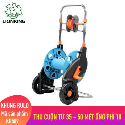 Khung rulo cuộn ống LionKing KR509 - cuộn ống có độ dài từ 35 - 50 mét ống phi 18