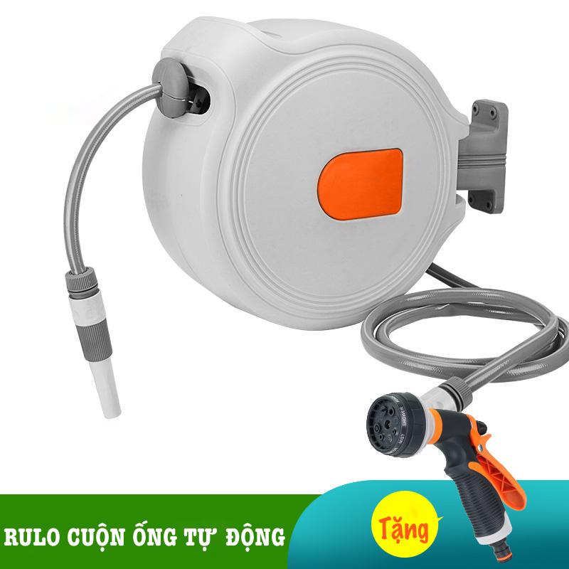 Bộ vòi tưới cây, rửa xe LionKing (PHIÊN BẢN THƯỜNG) - Rulo thu cuộn ống nước tự động