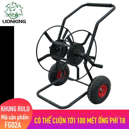 Khung rulo cuộn ống LionKing FG02A - có thể cuộn lên tới 100 mét ống phi 18