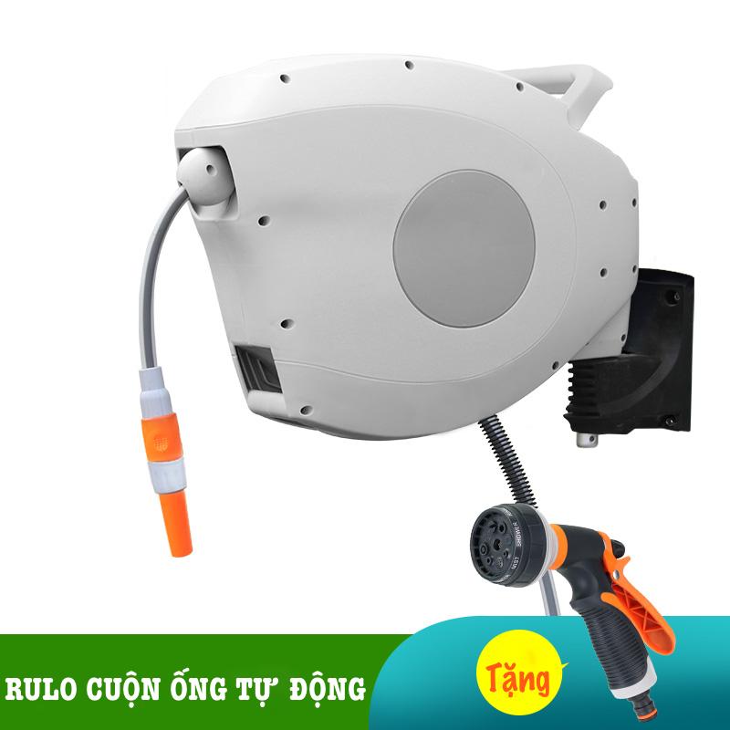 Bộ vòi rửa xe, tưới cây LionKing (PHIÊN BẢN CAO CẤP) - Rulo thu cuộn ống nước tự động