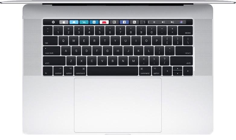 Macbook Pro 15-inch Touch Bar 2017 MPTR2 99% cũ giá rẻ
