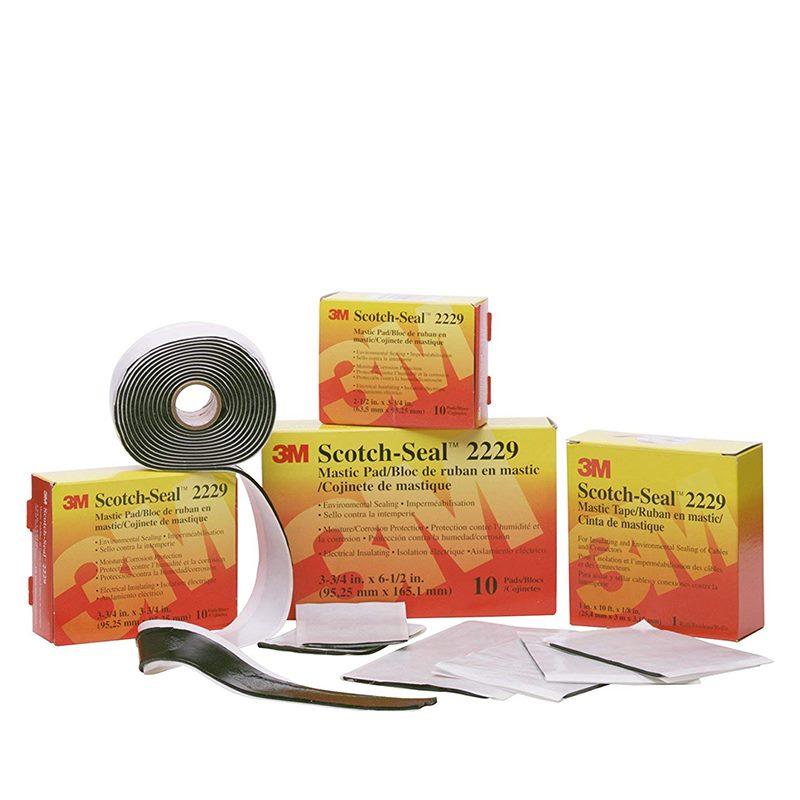 Băng keo bảo vệ kết cấu điện 3M 2229