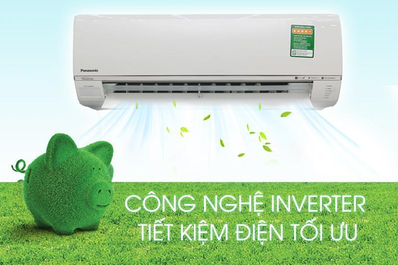 Hiệu quả tiết kiệm điện năng tối ưu nhờ công nghệ Inverter