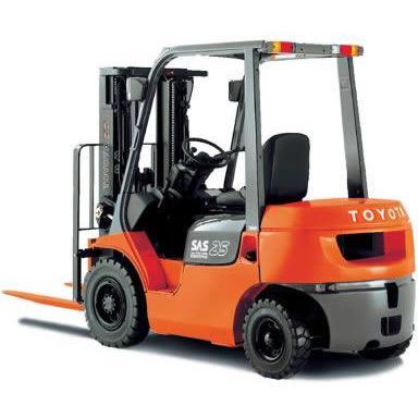 Cho thuê xe nâng 10 tấn ở Thái Bình