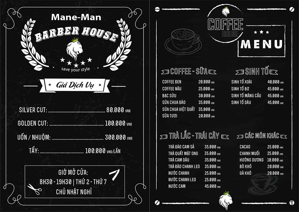 MANE-MAN BARBER HOUSE