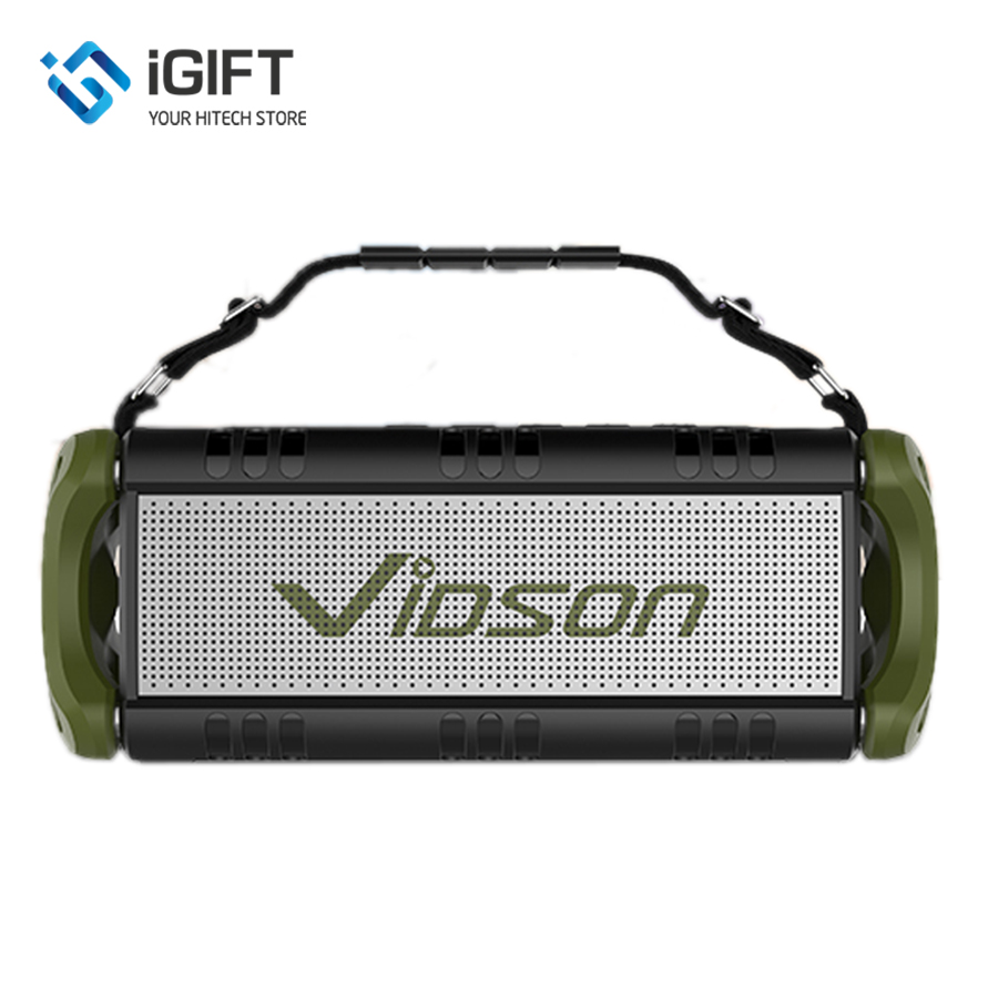 Loa bluetooth TWS 40W W-KING D8 Vidson