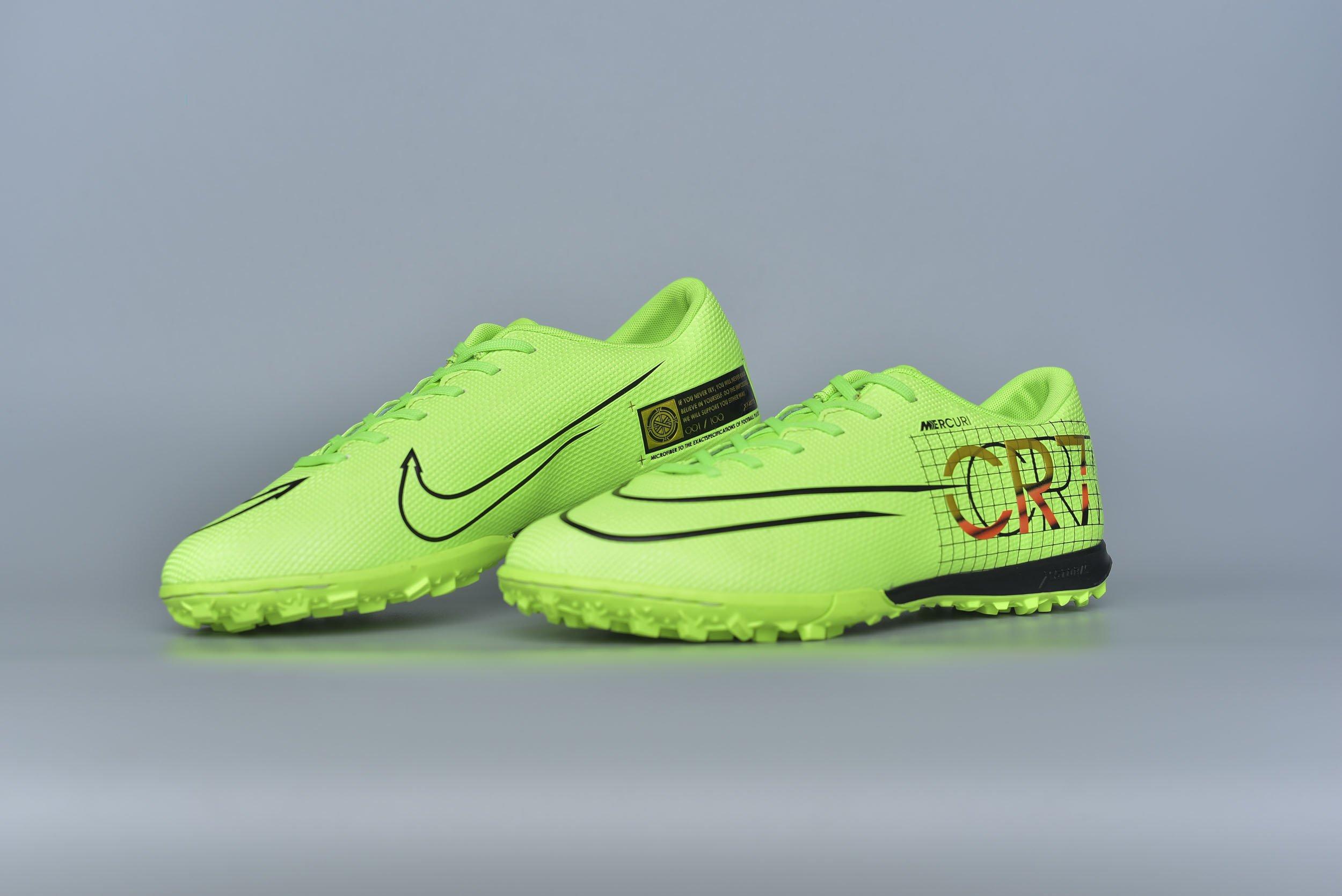 Giày đá bóng Xfaster CR7-100 - Xanh Chuối