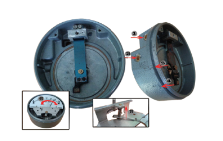 VCR differential pressure gauge