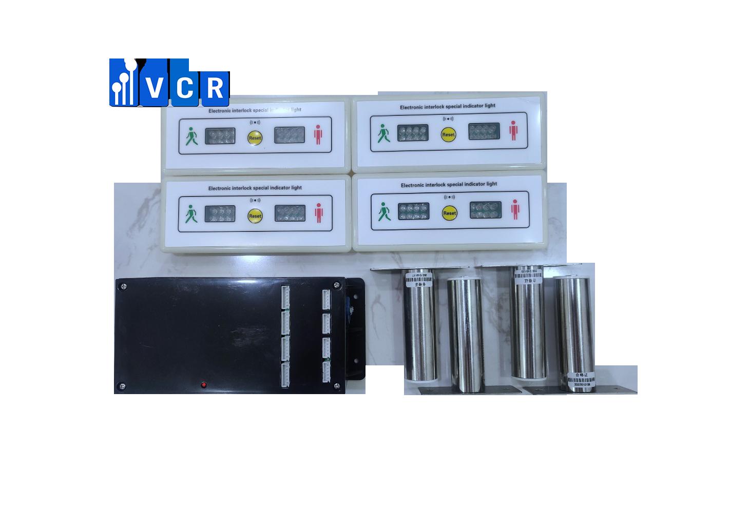 Khóa liên động bốn VCR X4