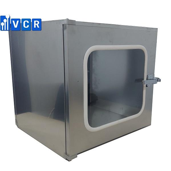 <b><big>Pass box VCR500SP <br> </b></big>Khóa cơ <br>KT trong: 500*500*500 <br></b> KT ngoài: 620*560*580<br></b>Đèn UV