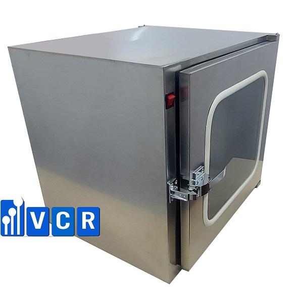 <b><big>Pass box VCR600SP <br> </b></big>Khóa cơ <br>KT trong: <b>600*600*600 <br></b> KT ngoài: 720*660*680<br></b>Đèn UV