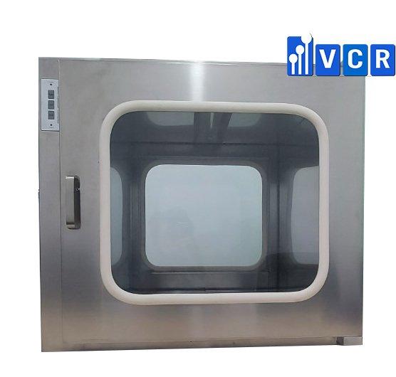 <b><big>Pass box VCR600SE <br> </b></big>Khóa điện tử <br>KT trong: <b>600*600*600 <br></b> KT ngoài: 740*660*680<br></b>Đèn UV