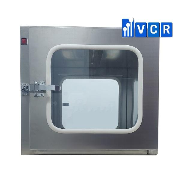 <b><big>Pass box VCR600SN <br> </b></big>Khóa cơ <br>KT ngoài: <b>600*600*600 <br></b> KT trong: 480*520*520<br></b>Đèn UV