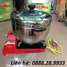 Máy nổ bỏng ngô bếp gas đơn VN-9889