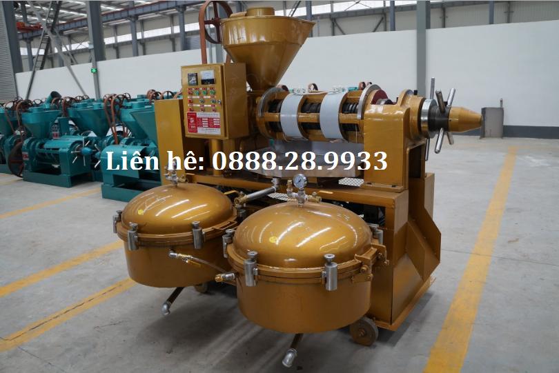 Máy ép dầu thực vật Guangxin YZLXQ120