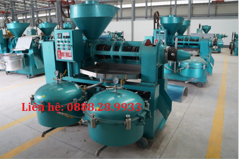 Máy ép dầu thực vật Guangxin YZLXQ130