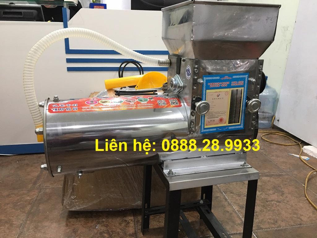 Máy xay tinh bột nghệ liên hoàn Inox TBN-2018 (2,2KW)