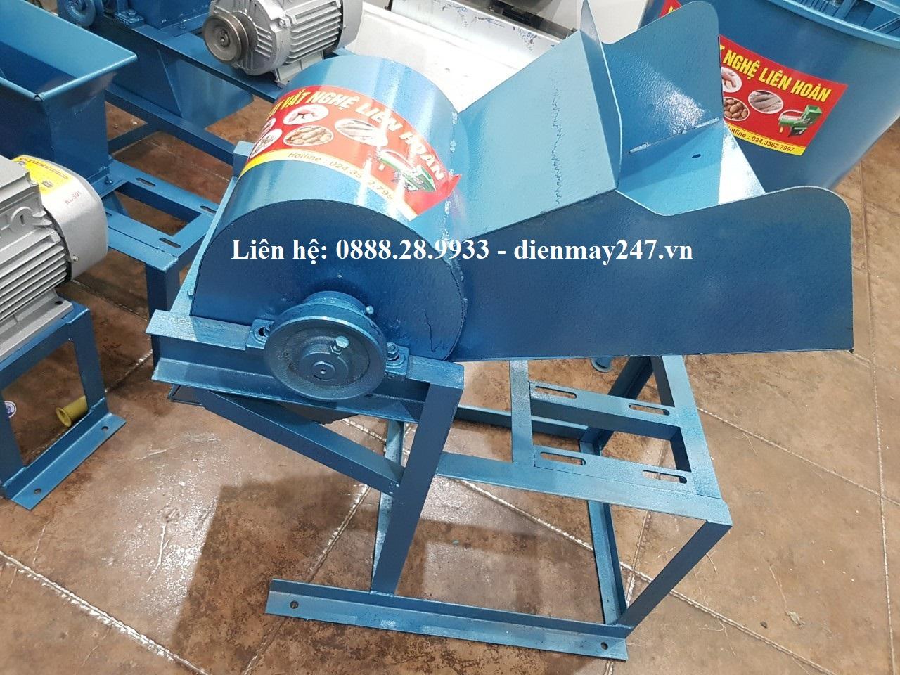 Máy xay nghiền nghệ tươi công nghiệp công suất lớn HM-2019 (MOTO 3.5KW)