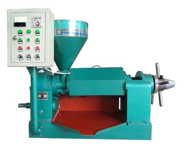 Máy ép dầu thực vật công nghiệp YZYX-140 (bảng điều khiển)