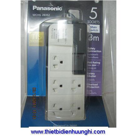 Ổ cắm điện Panasonic WCHG28352 ( Ổ cắm điện 1 công tắc dây 3m)