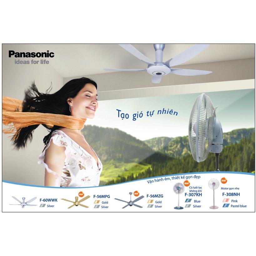 Quạt điện Panasonic F-60WWK ( Quạt trần Panasonic F-60WWK 5 cánh)