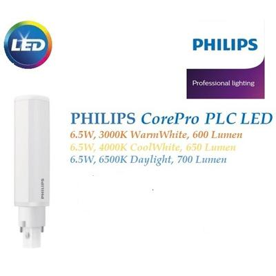 Bóng đèn led Philips PLC 6,5W ( Core Pro 2P )