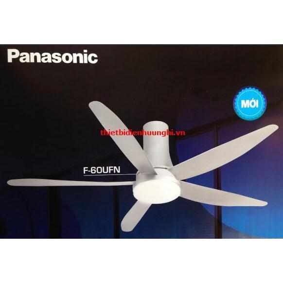Quạt điện Panasonic F-60UFN ( 5 cánh, đèn led, motor DC )