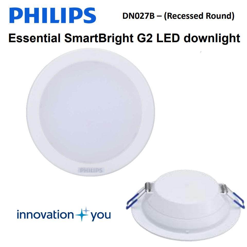 Đèn led downlight Philips DN027B 15W ( Đèn led âm trần Philips Led12 DN027B 15W )