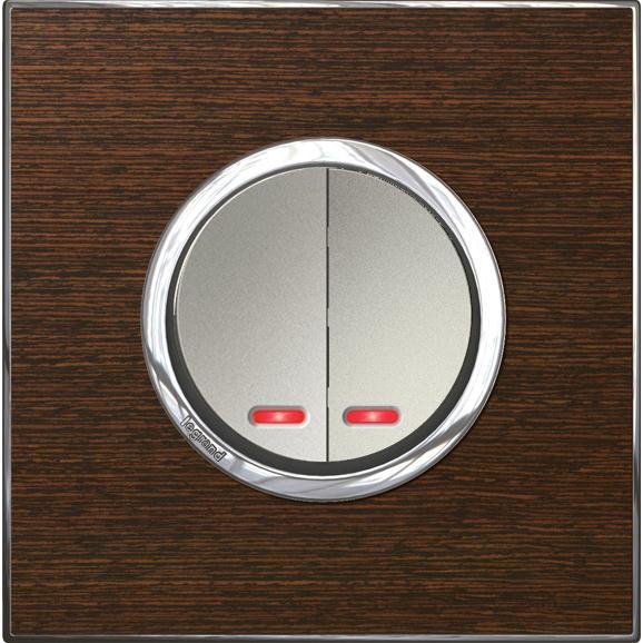 Bộ 2 thiết bị LEGRAND Arteor phím tròn