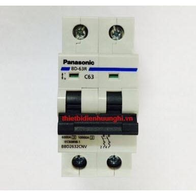 Cầu dao tự động Panasonic 2 tép 6A - 40A